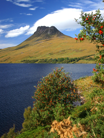 stac pollaidh coigach self catering holidays